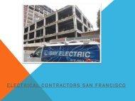Electrical Contractors San Francisco