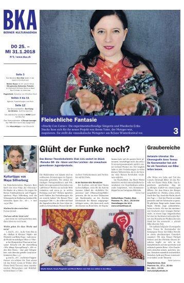 Berner Kulturagenda 2018 N°3