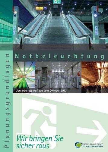 RSV Planungsgrundlagen Notbeleuchtung deutsch 10_2013 _03