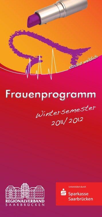 Frauenprogramm - Regionalverband Saarbrücken