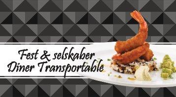 Fest & selskaber - Diner Transportable