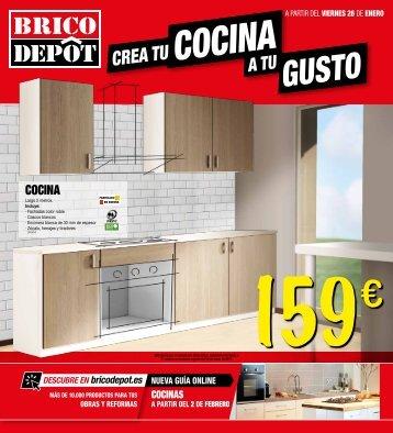 BRICO DEPOT CREA TU COCINA A TU GUSTO, a partir del viernes 26 de enero 2018