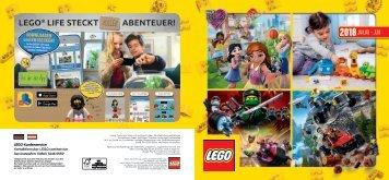 LEGO Katalog 1. HJ 2018