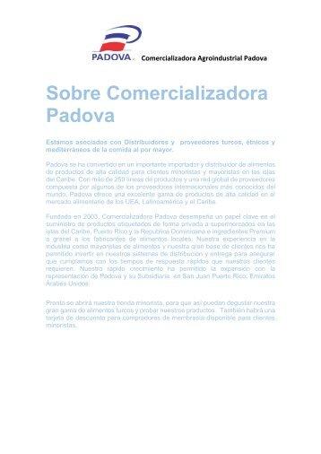 PRESENTACION PADOVA