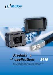 2010 Produits applications