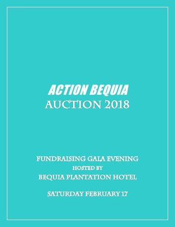 Action Bequia Auction 2018
