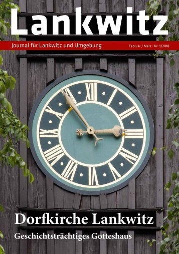Lankwitz Journal Nr. 1/2018