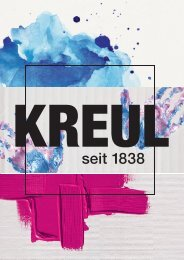 KREUL Catalogue 2018 English