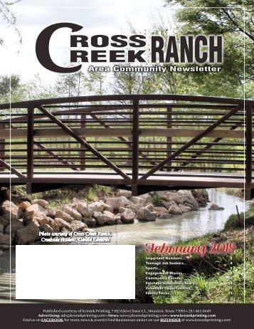 Cross Creek Ranch February 2018