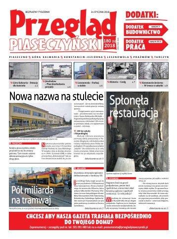 Przegląd Piaseczyński, wydanie 180