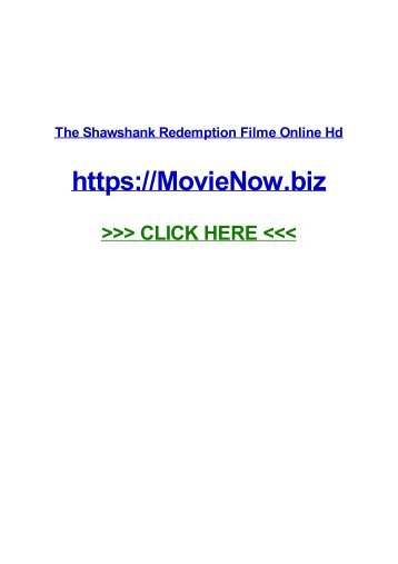the SHAWshANk redemption FILme oNLine HD