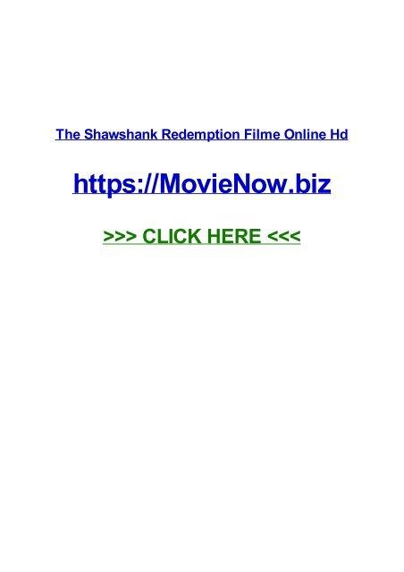 The Shawshank Redemption Filme Online Hd