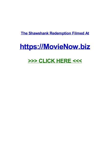 The Shawshank Redemption Filmed At