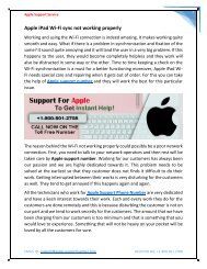 Dial Apple Support Phone Number +1-800-501-2708 for Help USA