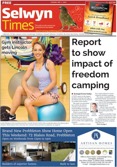 Selwyn Times: May 02, 2017
