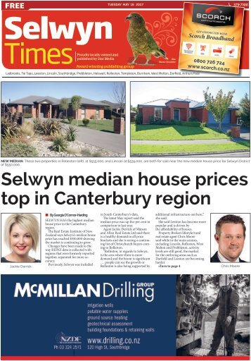 Selwyn Times: May 16, 2017
