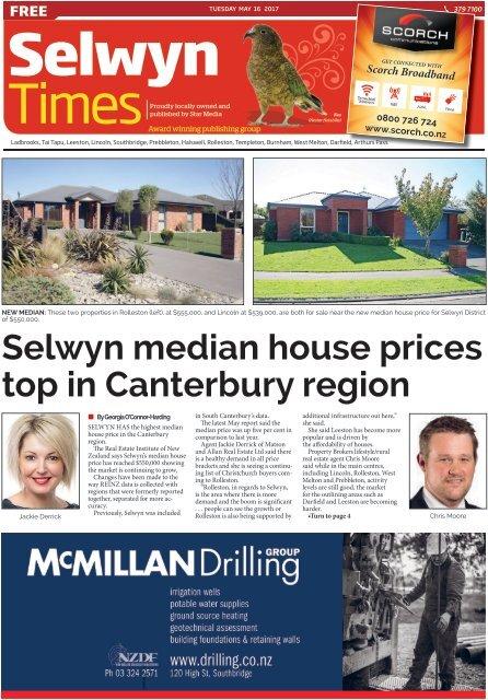 Selwyn Times: May 16, 2017