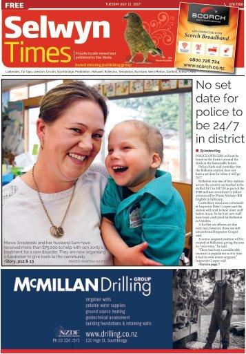 Selwyn Times: July 11, 2017