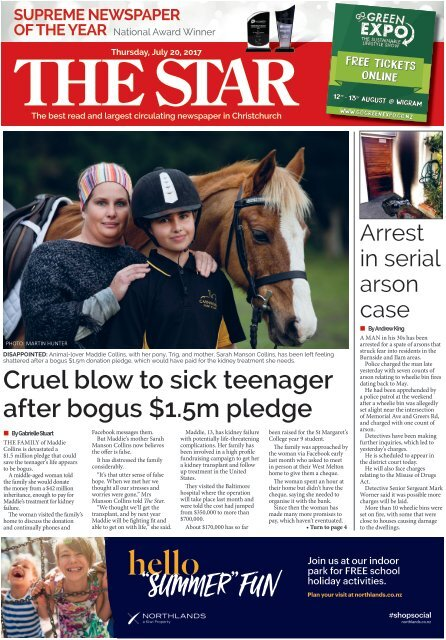 The Star: July 20, 2017