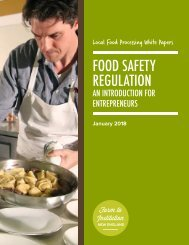 FINE Food Safety White Paper