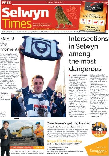 Selwyn Times: August 08, 2017