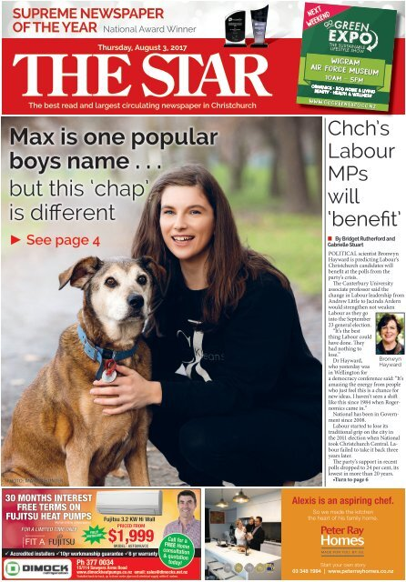 The Star: August 03, 2017