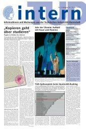TUD intern 3/2003 - Darmstadt Dribbling Dackels