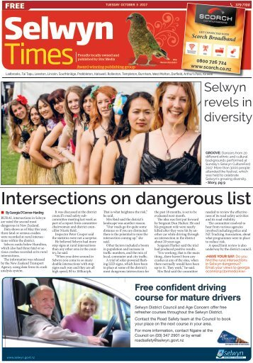 Selwyn Times: October 03, 2017