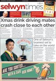 Selwyn Times: December 19, 2017