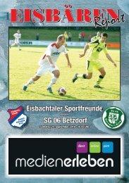 6. Ausgabe - Heimspiel gegen SG 06 Betzdorf - Sportfreunde ...