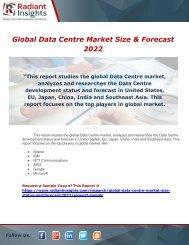 Global Data Centre Market Size 2022