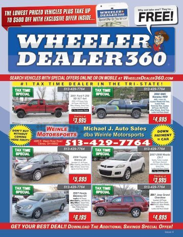 Wheeler Dealer 360 Issue 4, 2018