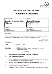 PLANNING COMMITTEE - Meetings, agendas, and minutes