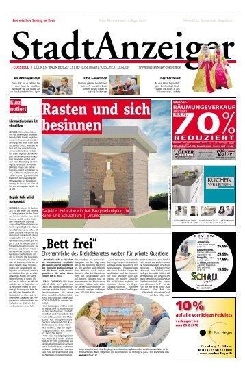 Stadtanzeiger Coesfeld kw 4