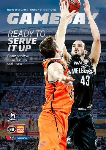 Game day program Round 16