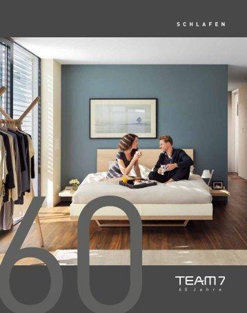 Team7 Katalog- Schlafen
