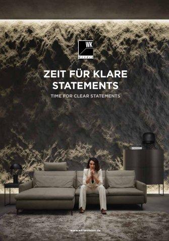 WK Wohnen - Zeit für klare Statements.