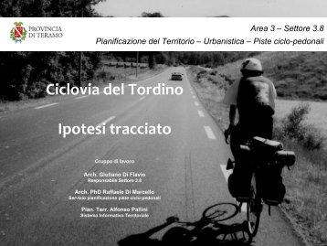 Una pista ciclabile per collegare Teramo al Mare sulla via del Tordino #sipuofare #sostienilaProvincia