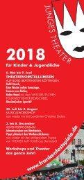 Prospekt Junges Theater 2018