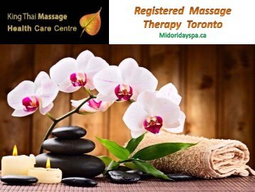 Best Registered Massage Therapy in Toronto