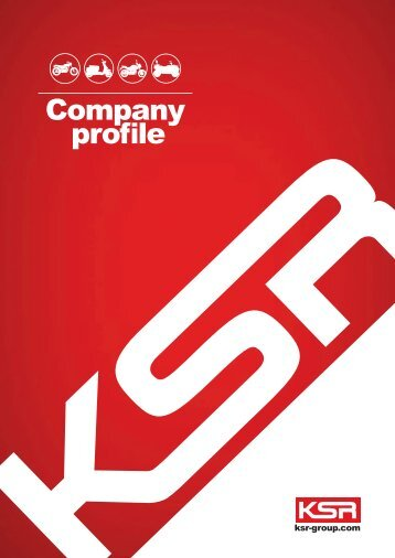 KSR Group Company Profile 2018 english