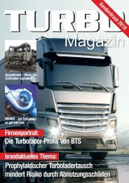 Turbo-Magazin Sonderdruck Turbolader-LKW