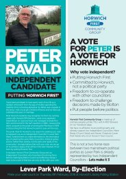 Peter Ravald - Independent Candidate