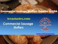 Stainless Steel Sausage Stuffer Machine Price   Best Deals