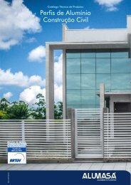 Catálogo de Perfis de Alumínio - Construção Civil