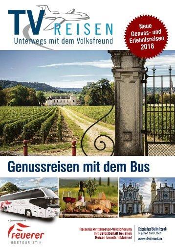 Genussreisen mit dem Bus 2018