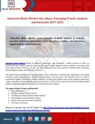 Induction Motor Market Size, Share, Emerging Trends, Analysis and Forecasts 2017-2021