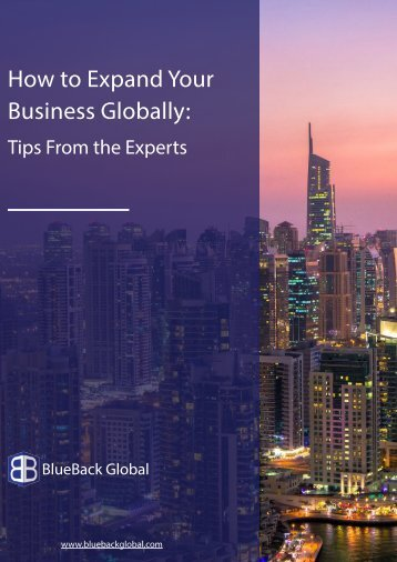 How to Expand Your Business Globally.Tips From the Experts