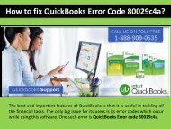 Fix QuickBooks Error Code 80029c4a Call 1-888-909-0535 Number