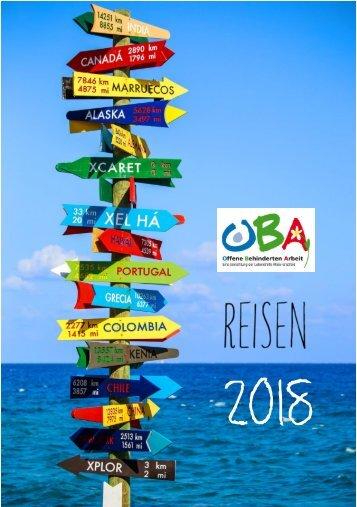 Reiseprospekt 2018